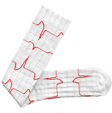 Prestige Medical Nurse Heartbeat EKG 15-18mmHG Compression Knee Sock