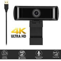 4K UHD Webcam USB Autofocus Web Camera Video For Conference Live Broadcast MSN