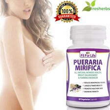 PUERARIA MIRIFICA BREAST ENLARGEMENT PURE ORGANIC BUST FIRMING 500MG 60 CAPSULES