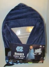 UNC Hooded child's towel wrap NEW University of North Carolina blue Tarheels