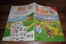 Sticker-album -- Asterix e i Romani // con panorama-POSTER e più di 30 pag.