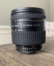 Nikon AF Nikkor 24-85mm 1:2.8-4 D Macro lens