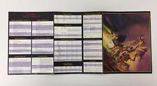 Advanced Dungeons & Dragons dm GM Pantalla RPD D&D TSR WOTC 1995