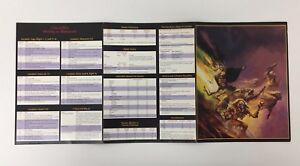 ADVANCED DUNGEONS & DRAGONS DM GM SCREEN RPD D&D TSR WOTC 1995