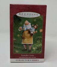 Hallmark Keepsake 2001 Toymaker Santa Collector's Series #2