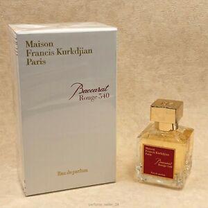 Maison Francis Kurkdjian Baccarat Rouge 540 Eau De Parfum 2.4oz / 70ml NEW BOX!