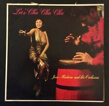 Jose Madeira Or on Paris P-132 – Let's Cha Cha Cha Disc E-/Cover V+