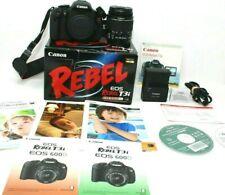 Canon EOS Rebel T3i 18.0MP Digital SLR Camera With EF-S 18-55mm Lens