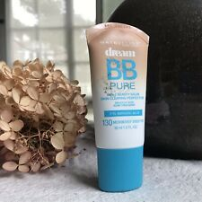 Maybelline DREAM BB PURE Salicylic Acid Acne 130 Medium/Deep Sheer Tint Exp 1/19