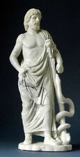 Asclepios Asclepius Ancient Greek Medicine God Sculpture Statue Reproduction