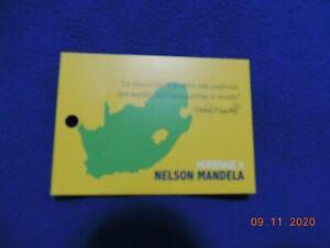 Costa Rica 2015 libretto dedicato a Nelson Mandela MNH