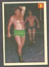 1954 Parkhurst Wrestling, #6, Dirty Dick Raines