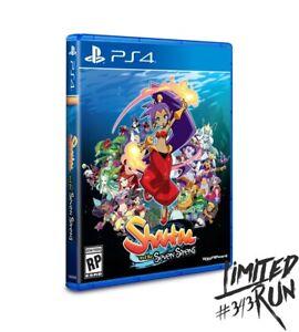 Limited Run Shantae & Seven Sirens Playstation 4 PS4 In Hand & Ships Worldwide