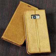 Premium Schutzhülle für Apple / Samsung Smartphone Tasche Case Cover Handy gold