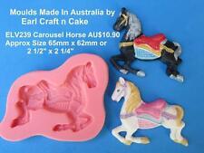 Carousel , Prancing  Horse - Mould Make Cake Toppers Gum Paste Cake Decorating