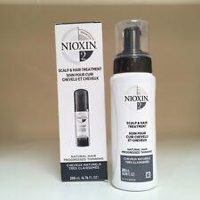 Nioxin System 2 Scalp Treatment for Fine Thinning Hair 6.8 oz **NIB**
