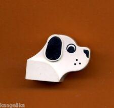 Lego--6243px1--Hundekopf--Schwarz/Weiß--Sonderstein-Dog-