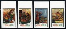 GHANA CHRISTMAS 1982  IMPERFORATED  MINT NH