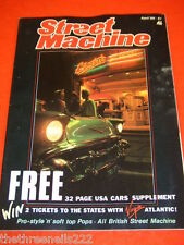 STREET MACHINE - ALL BRITISH STREET MACHINE - APRIL 1986