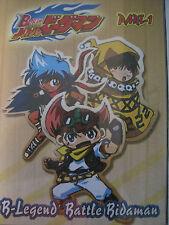 B-Legend Battle Bidaman Part 1 Import DVD Anime Set