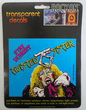 TWISTED SISTER ROCK ON DECAL CAR WINDOW MIRROR DECALS ROCK & ROLL STAY HUNGRY