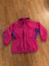 Vintage Columbia Womens Long's Peak Coat Jacket Shell Parka Sz M