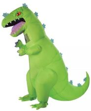 Inflatable Adult Rugrats Nickelodeon Awesome Reptar Costume Dinosaur