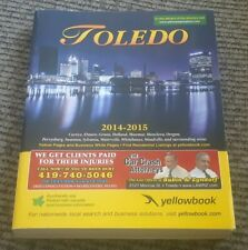 2014 2015 TOLEDO OHIO CITY DIRECTORY-Address-number PHONE BOOK YELLOW PAGES