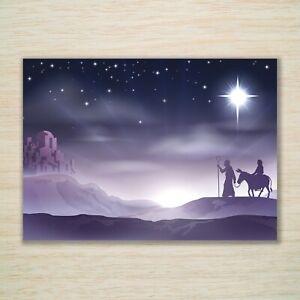 Religious Christmas Cards & Packs - The Journey - Nativity Mary Joseph Jesus