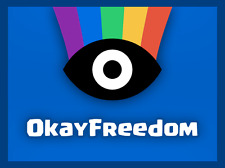 OkayFreedom VPN Unlimited Traffic Serial Number (1 Year)