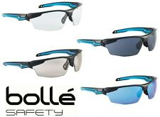 Bolle Tryon Anti-Fog Safety Glasses - Choose Lens Color - Free Pouch Included
