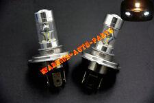 For Arctic Cat 100W LED Super White Bright Headlight Bulbs LED BulbsATV (A Pair)