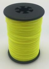 Flo. Yellow BCY 3D Serving Thread.017 120 Yard Jig Spool Bow String End Serving
