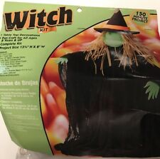 New Dritz Table Top Decoration Halloween Witch Craft Kit Project for Ages 8 & Up