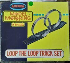 AURORA MODEL MOTORING VINTAGE LOOP THE LOOP  and Bridge support parts#1592