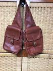 HOBO International British Tan leather Saddle bags - Rare