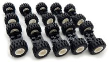 10 Sets Of Lego Wheels 20 Tires10 Axles Race Car Truck Lot Vehicle City Town