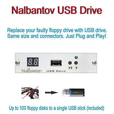 Nalbantov USB Floppy Disk Drive Emulator for AKAI S950