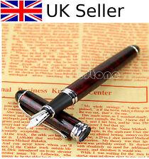 New JINHAO x750 Lava Red Medium Nib Fountain Pen UK SELLER >>>>