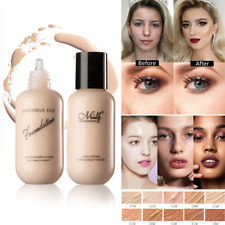 Face Foundation Cream Liquid Full Coverage Matte Base Long-lasting Concealer