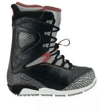 Nike Zoom Kaiju Snowboard Boots Jordan Grey Cement Rare Black 376276-003 Sz 9