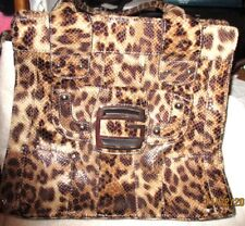 """NEW   *GUESS*   """"Cougar""""   Large Tote, Bag, Purse, 13"""" x 14"""""""