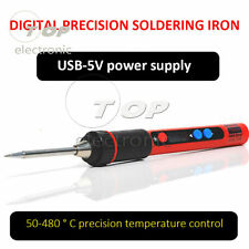 Home USB Charging Electric Iron 5V Portable Soldering Iron Repair Welding Tool