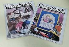 New ListingCross Stitch & Country Crafts Magazines Mar/Apr 89 and Jan/Feb 90 Easter Spring