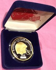 1995 Buffalo Bills Gold Gilded Division Champs 1 Troy Oz .999 Fine Silver Round