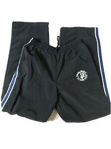 Krav Maga Training Pants Old Style Small Black With Blue Trim