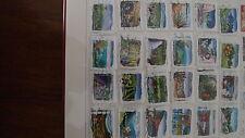 timbres des 2 carnets flore des régions 291 a 302 et 303 a 314 oblitérés