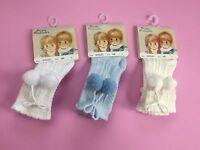 Designer Pretty Originals Knee Length Pom-Pom Socks White  NEW SEASON