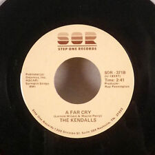 """The Kendalls A Far Cry / Routine 7"""" 45 Step One Records single EX"""