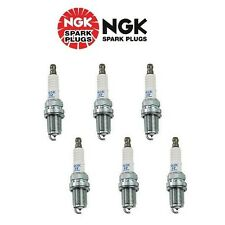 VW Audi Set of 6 Pre-Gapped Spark Plugs NGK Laser Platinum Resistor PFR6Q / 6458